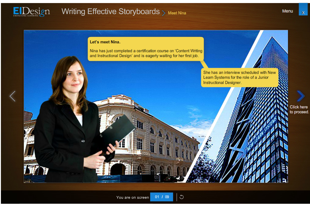 ILT to Effective Online Conversion using Storytorials 1