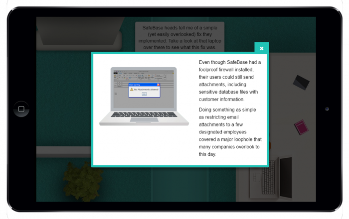Parallax eLearning example 3