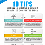 10 Tips on How to Choose a Custom eLearning Company in India