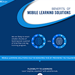 Benefits of mobile learning solutions