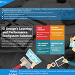 EI Designs learning and performance ecosystem solution
