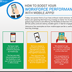 How to boost your workforce performance with mobile apps