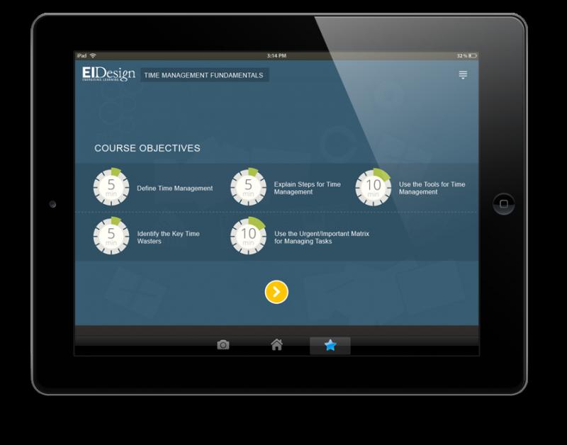 EI Design Time Management1