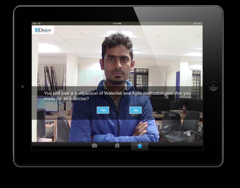 EI Design agile Interactive video