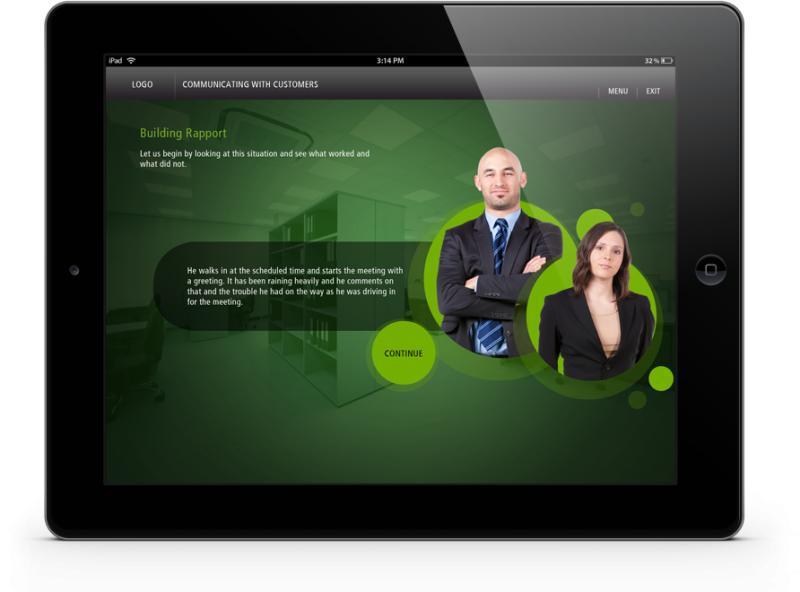 EI Design Banking and Finance ipad