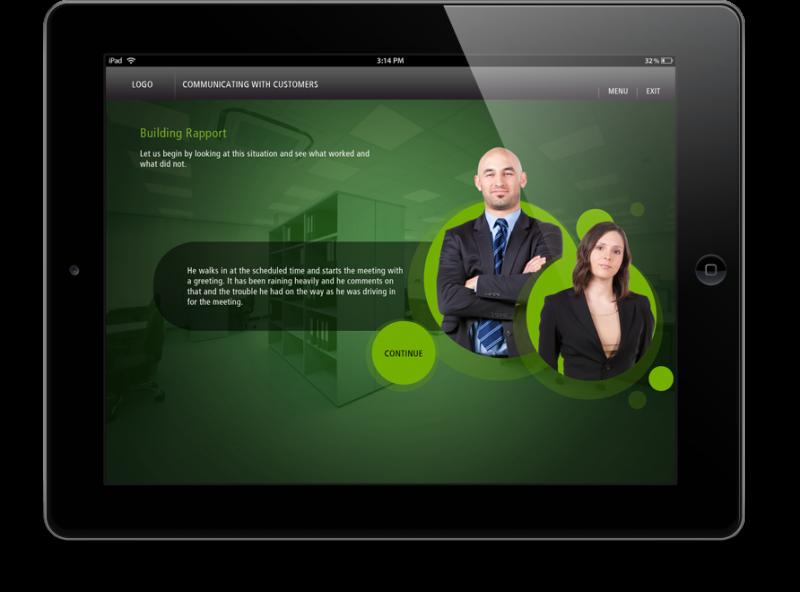 EI Design Banking and Finance ipad