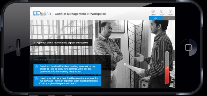 EI Design Scenario based Conflict at workplace