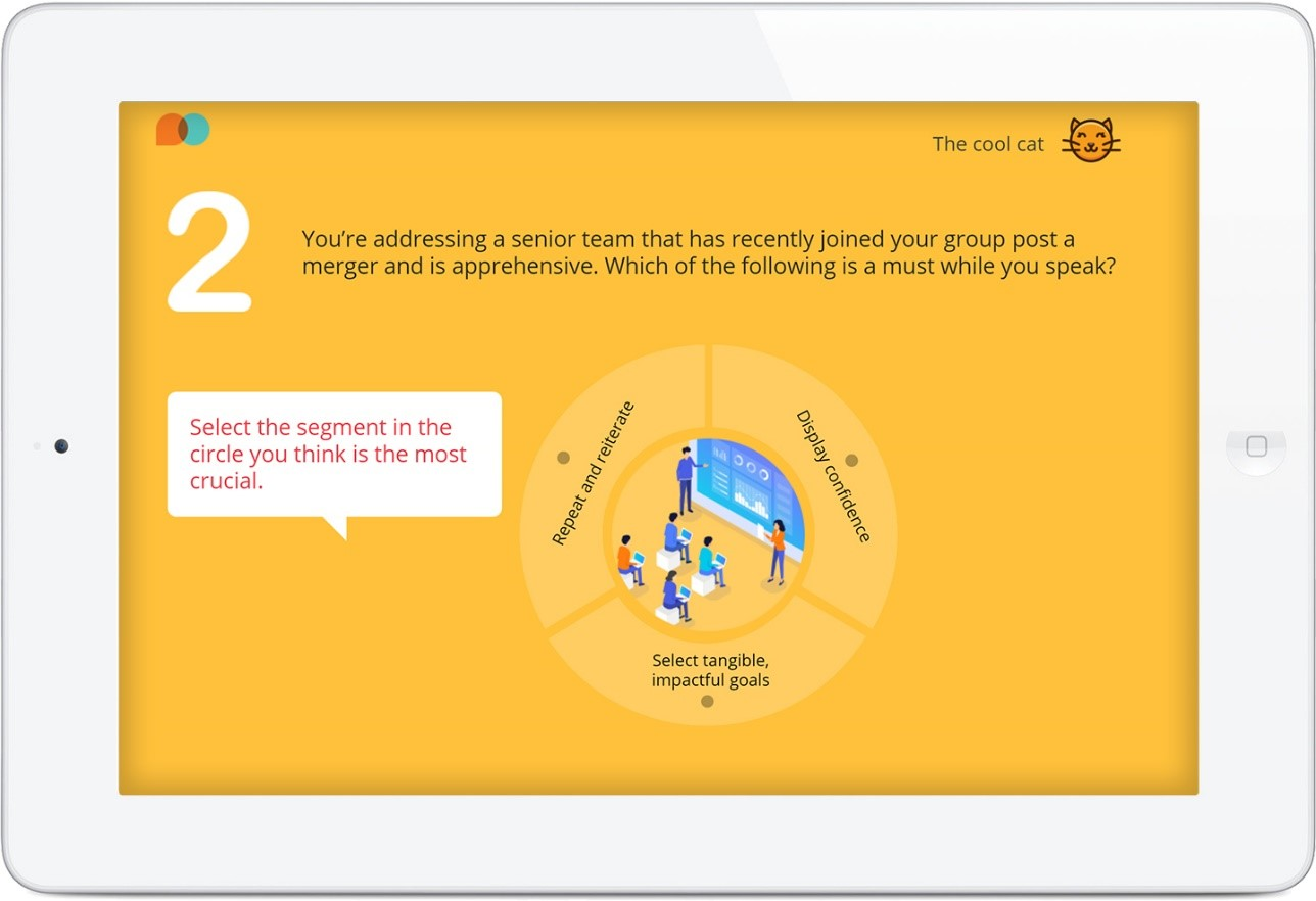 Gamification Example 5: Partial Gamification - Features a Gamified Activity