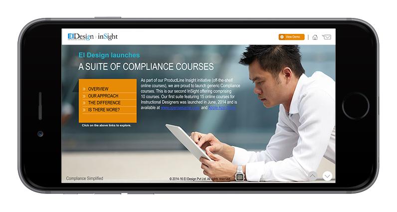 EI Design Interactive PDFs and eBooks SmartPhone