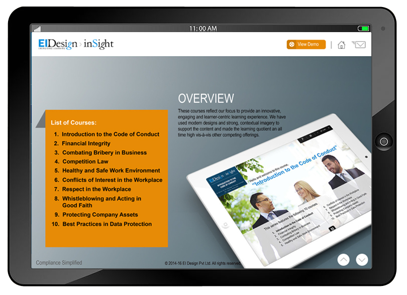 EI Design Interactive PDFs and eBooks iPad