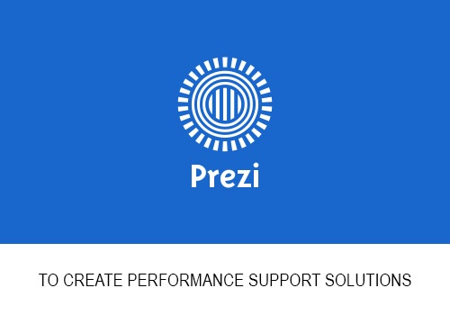 Performance Support Series: Featuring Prezi animations in our Learning framework to supplement online training