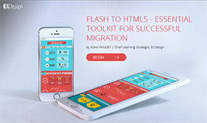 Flash To Html5 - Essential Toolkit For Successful Migration