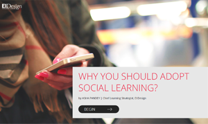 Why You should adopt Social Learning
