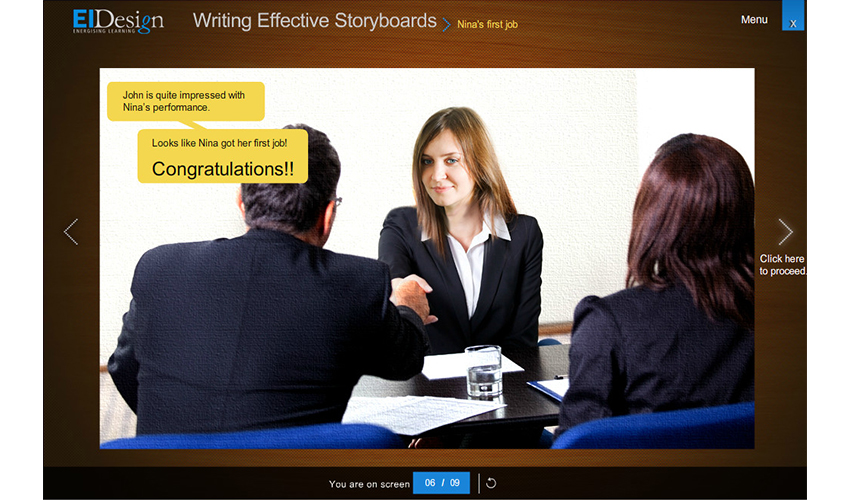 Writing Effective Storyboards