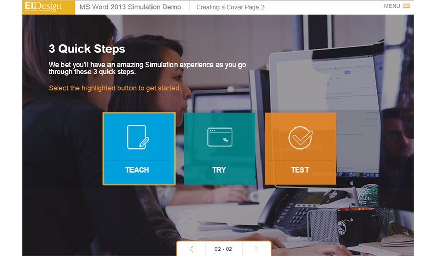 Elearning & Mlearning 3 Quick Steps
