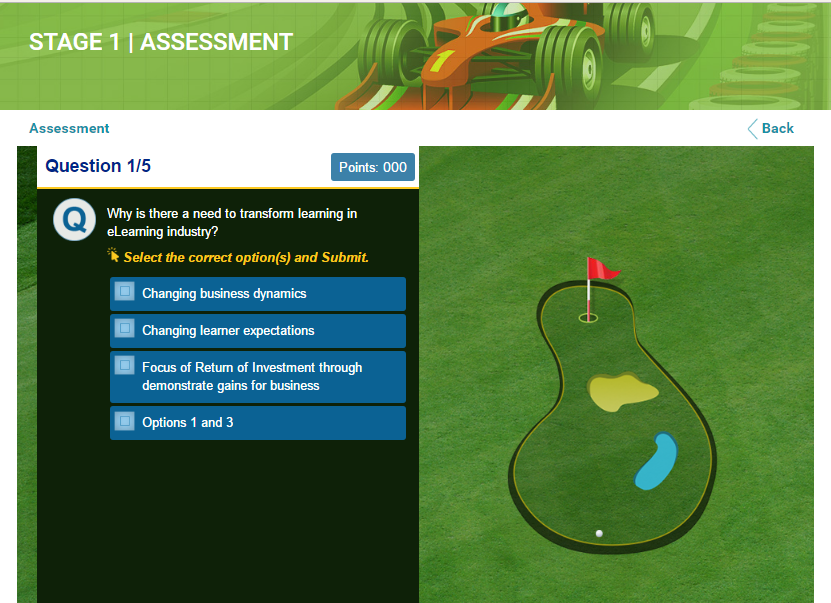 Induction and Onboarding Gamified Assessment
