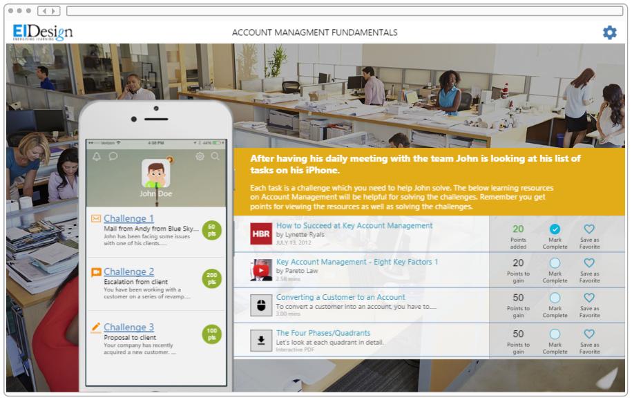 Skill development - Account Management example