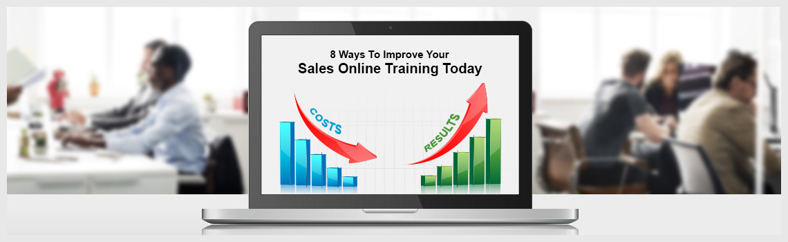 Ways to Improve Your Sales Online Training today - Chris