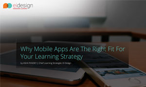Why Mobile Apps Are The Right Fit For Your Learning Strategy
