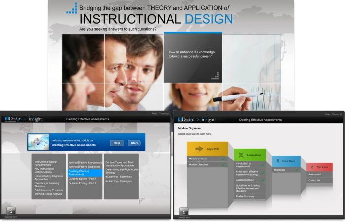 Traditional eLearning course - Before Sample 1