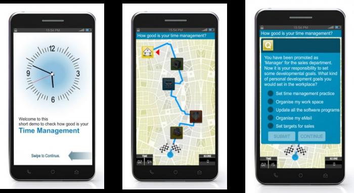 EI Design Time Management – Mobile App for corporate training