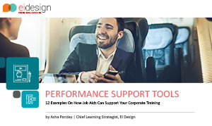 Free eBook - Performance Support Tools - 12 Examples On How Job Aids Can Support Your Corporate Training