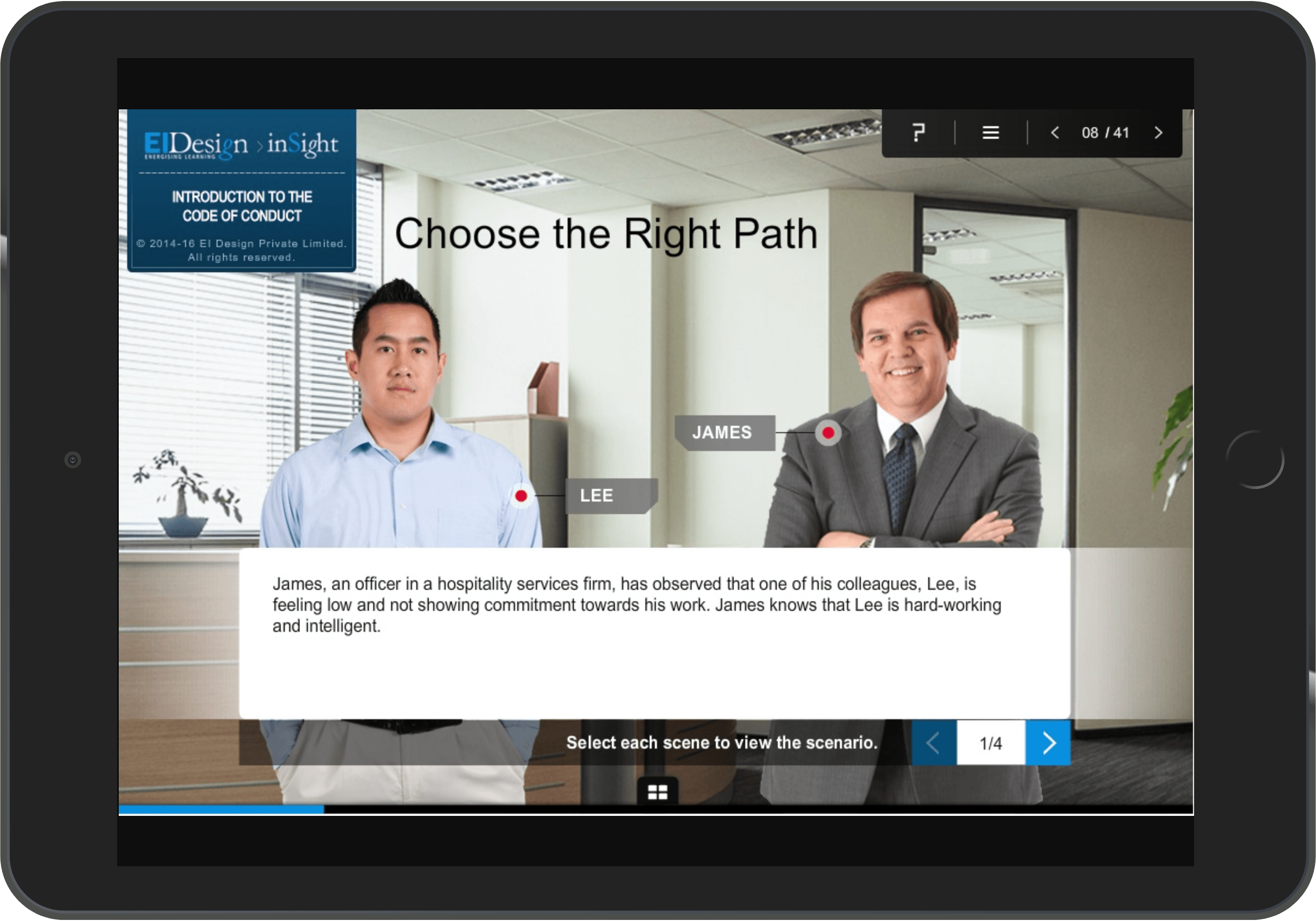 Compliance program Case Study - Choose Right Path
