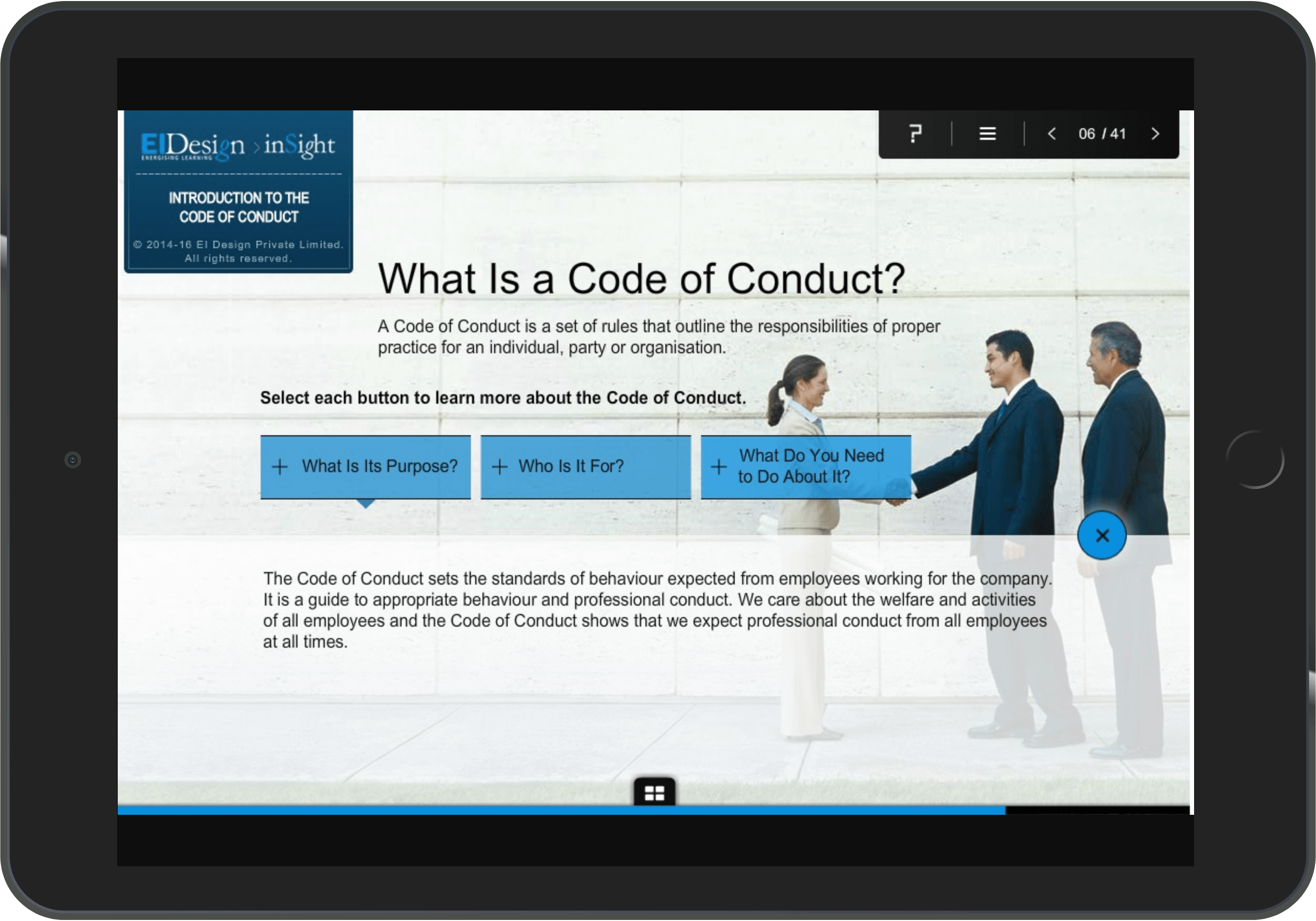 Compliance program Case Study - Context-Setting