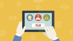 Infographic on Gamification in eLearning—6 Examples