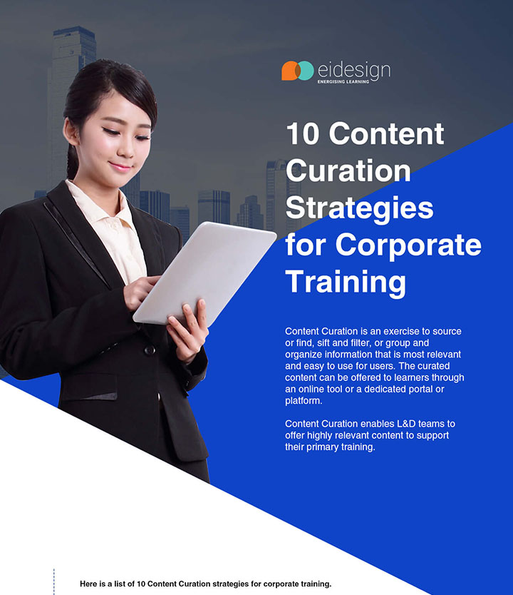 Content Curation Strategies for Corporate Training