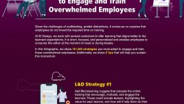 Infographic: 10 Must Use Strategies to Engage and Train the Overwhelmed Employees