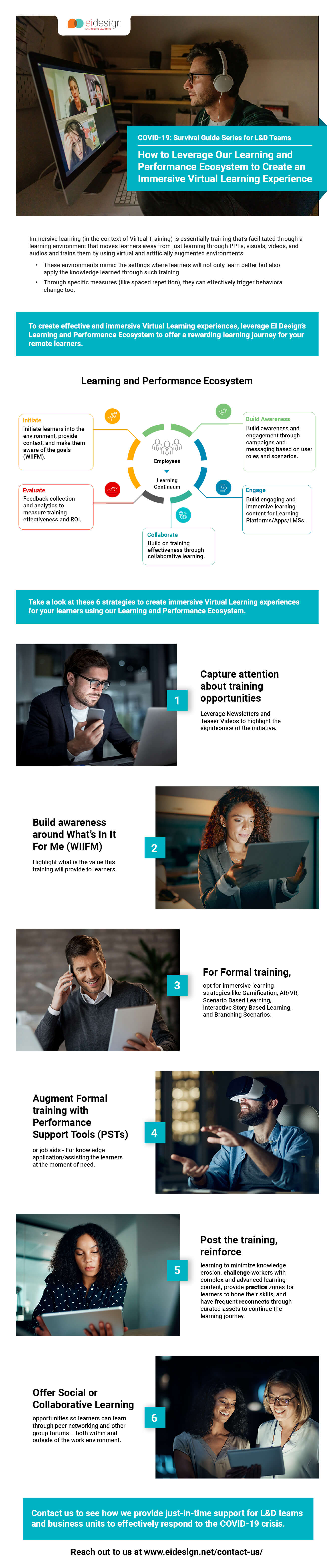 How to Leverage Our Learning and Performance Ecosystem to Create an Immersive Virtual Learning Experience
