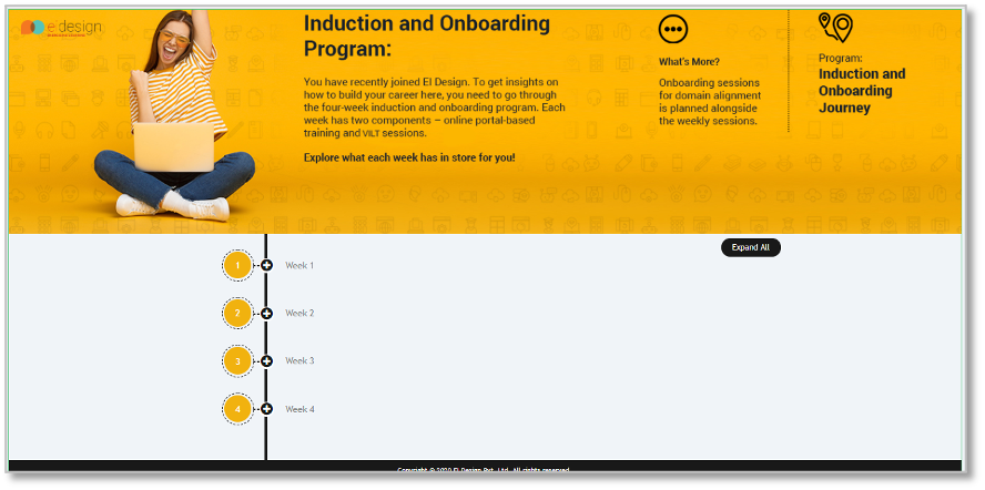 Transforming Instructor-Led Induction and Onboarding Training to a Virtual Mode